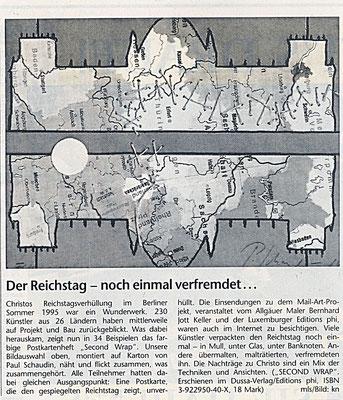 Augsburger Allgemeine · Der Reichstag - noch einmal verfremdet von Michael Schreiner