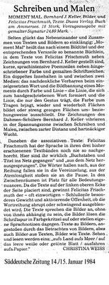 Süddeutsche Zeitung · Malen und Schreiben von Christina Weiß