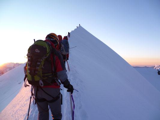 Cumbre del Mont Blanc
