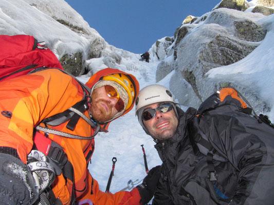 Cara norte pico Almanzor