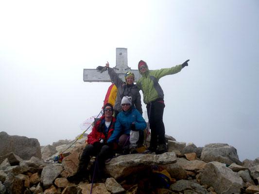 Cumbre pico Aneto