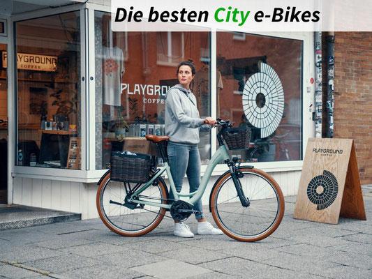 Die besten City e-Bikes des Jahres 2021