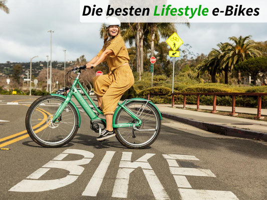 Die besten Urban & Lifestyle e-Bikes des Jahres 2021