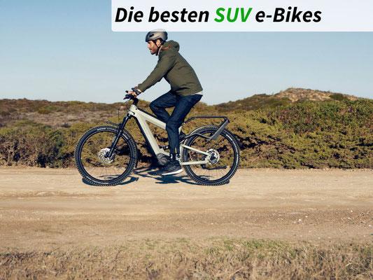 Die besten SUV e-Bikes des Jahres 2021