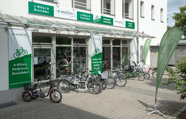 e-motion e-Bike Welt München Süd