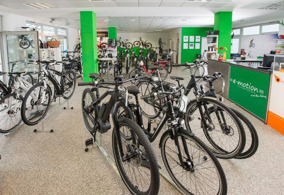 e-Bike Sortiment in München