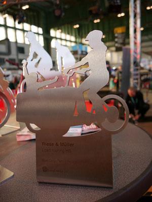 Pedelec Award für das Riese & MüllerLoad toruing HS