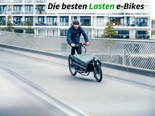 Die besten Lasten e-Bikes des Jahres 2021