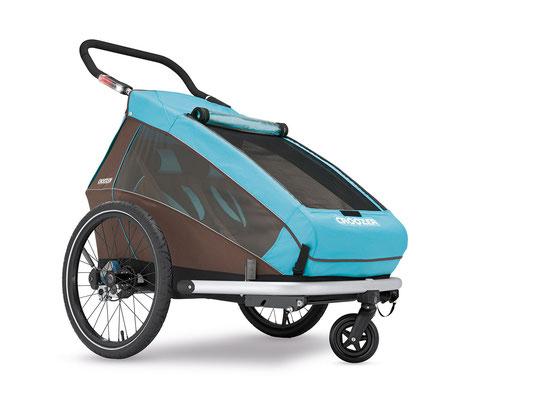 Croozer Fahrradanhänger für 2 Kinder