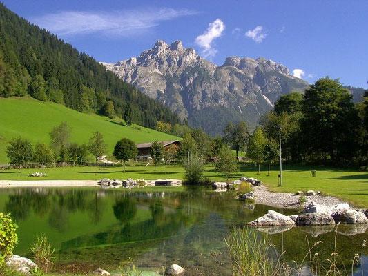 Hier kann man sehr schön die Natur genießen