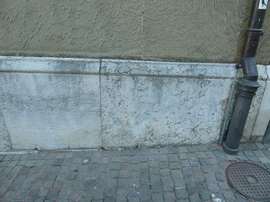 Rathaus Bern, Graffiti sandstrahlen
