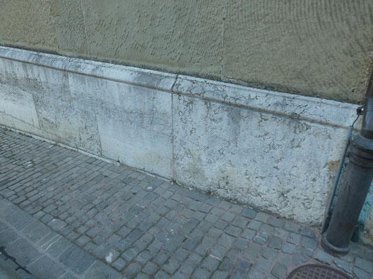 Graffitientfernung, Sandstrahlarbeiten, Steinmetz Wimmis