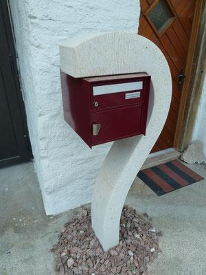 Briefkasten, Steinmetz, Wimmis