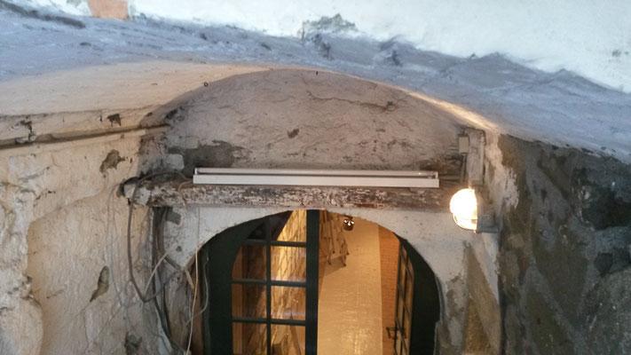 Kellersanierung, Sandsteinmauerwerk, Steinmetz Bern