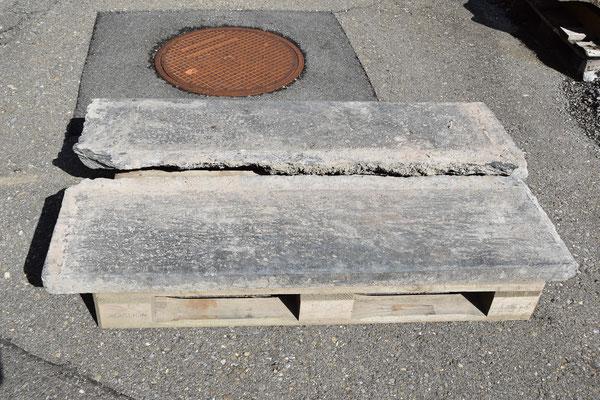 Treppe aus alten Ringenbergerplatten