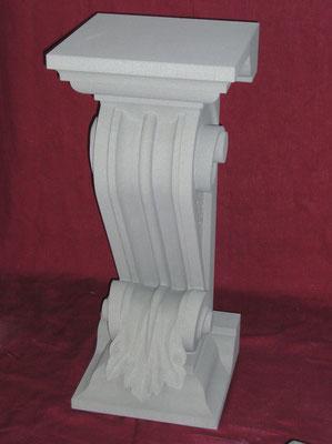 Berner Sandstein, Meisterprüfung, Konsole