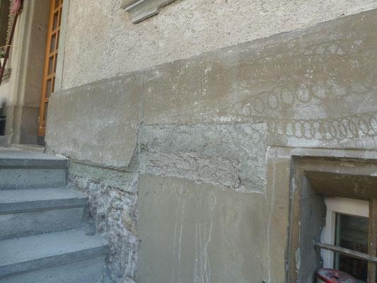 Fassadenrenovation, André Iseli Steinmetz
