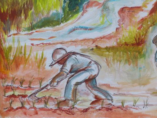 Le colonie dove stanziarono divennero con fatica coltivabili e abitabili.