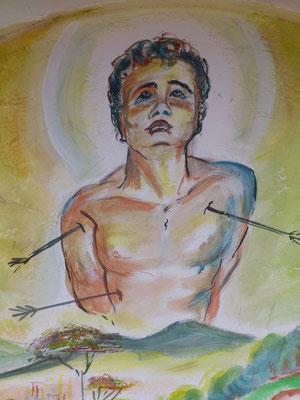 San Sebastiano è uno dei santi più venerato nel Brasile. E' un santo speciale, perchè non morì per il martirio inflittogli.