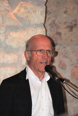 Dr. Peter Tuschl über die Sichtungsarbeiten in der Ortschronik seines Vaters, OSR Dir. Josef Tuschl,