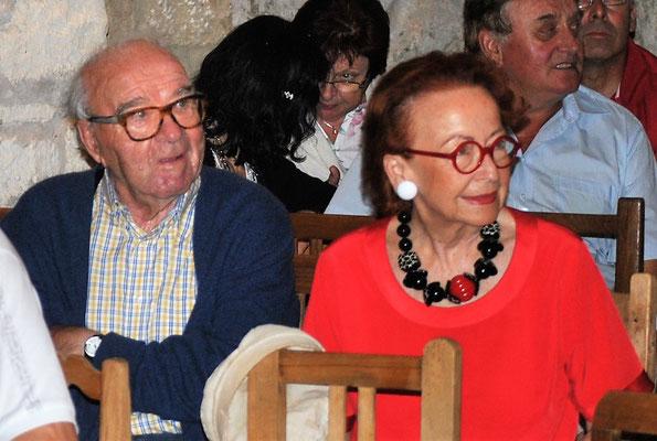 Prof. Wander Bertoni mit Gattin gibt uns auch die Ehre!