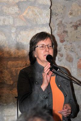 DI Dr. Rosalinde Kleemaier-Wetl erzählt über die Siedlungsgeschichte Windens,