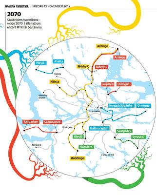 Vision 2070 for Stockholm