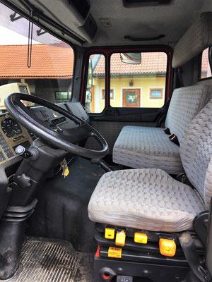 Fahrerkabine (zugelassen auf 4 Personen)