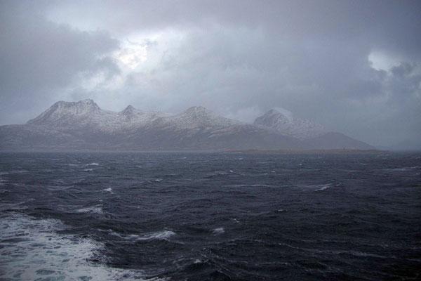 stürmisches Wetter
