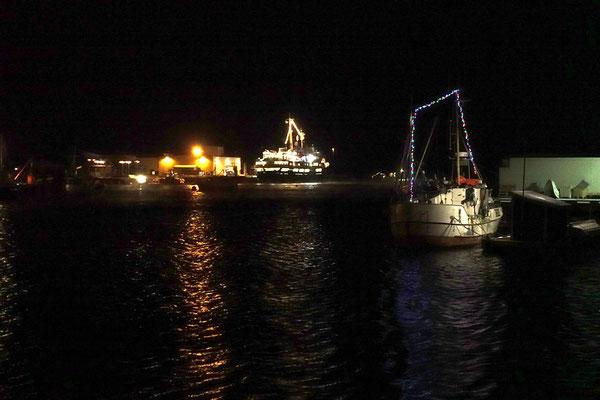 im Hafen von Vardø