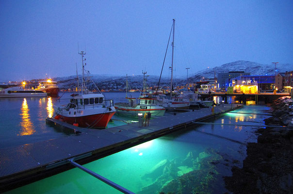 Hafen in Hammerfest