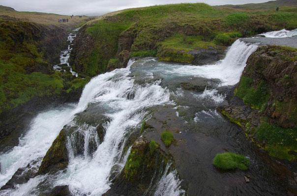 """und der Wasserfall von der """"falschen Seite"""""""
