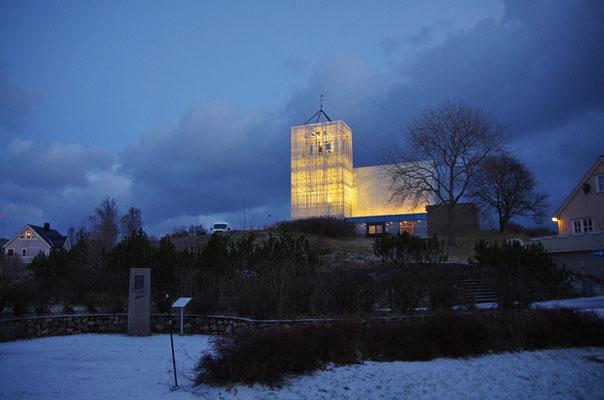 die neue Kirche in Rørvik