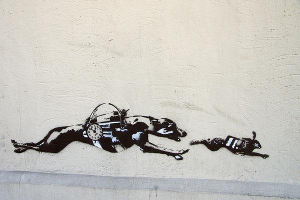 Wandbild in Bergen