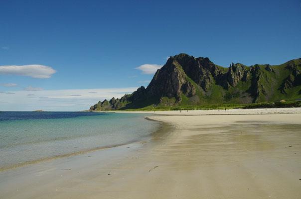 der Strand von Bleik