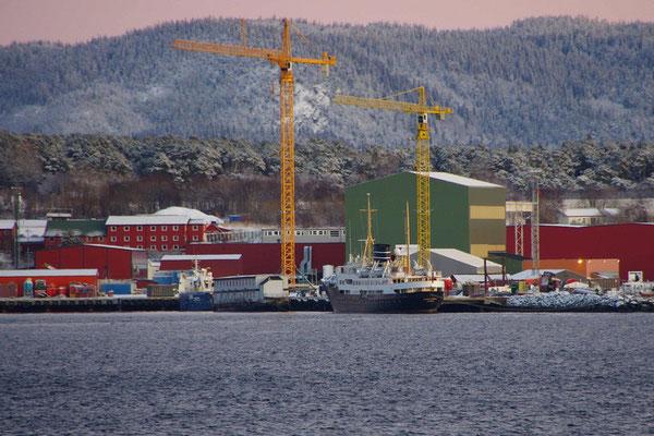 die Nordstjernen in der Fosen Yard Werft