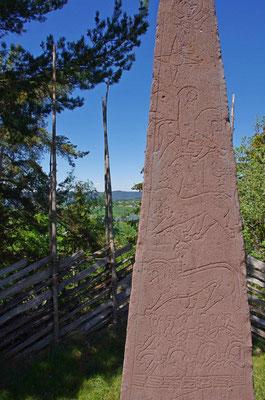 Säule mit alten Runen