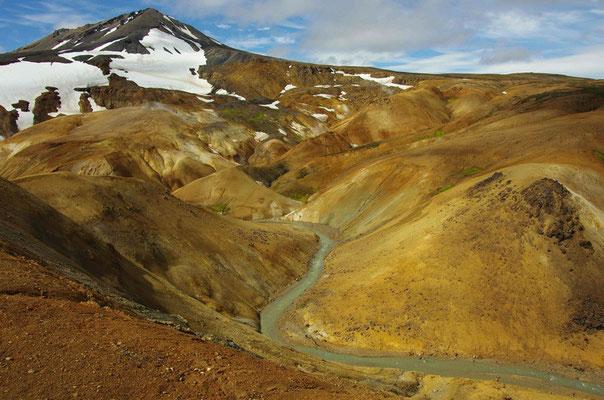 farbenprächtige Berge,