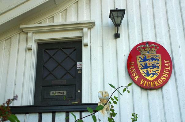 sogar ein dänisches Vizekonsulat gibt es hier