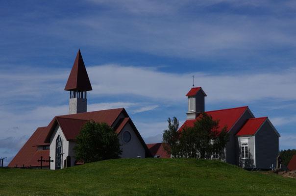 alte und neue Kirche von Reykhold