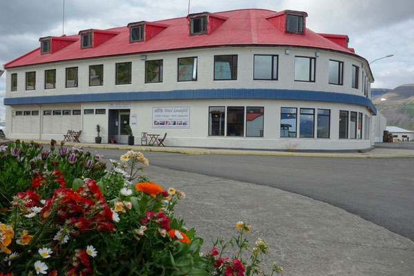 unser Hotel in Thingeyri
