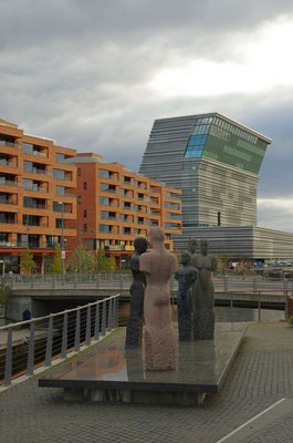 neuer Stadtteil vor dem Barcode / hinter der Oper und das fast fertige Munch-Museum