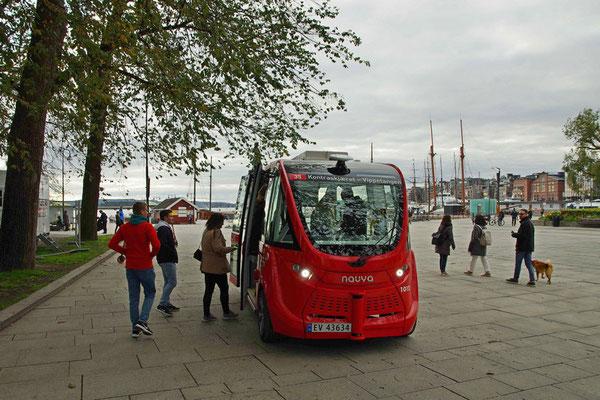 autonomer Elektrobuss