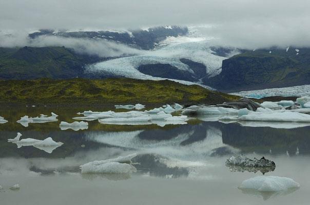Fjallsarlon Gletscherlagune