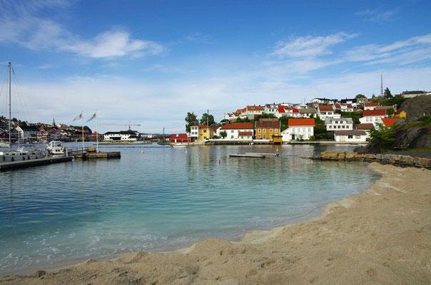 Sun Beach/ Sandtsrand auf Gunnarsholmen