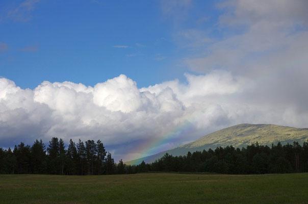 wieder ein Regenbogen