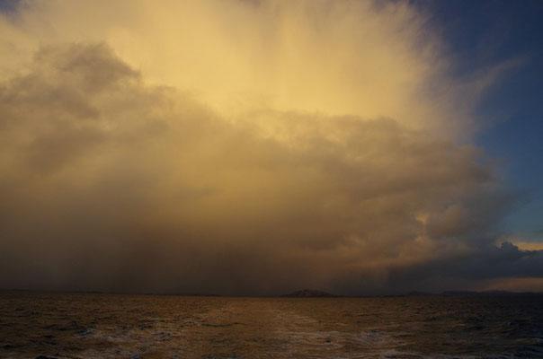 Unwetterwolken