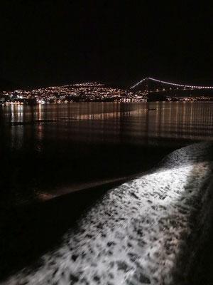 Abfahrt, die Askøybrücke