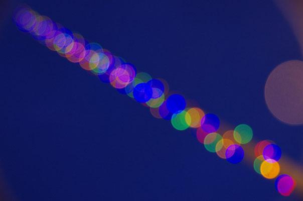 Lichtreflexspielerei