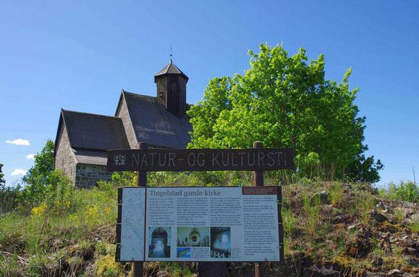 die alte Kirche von Tingelstad